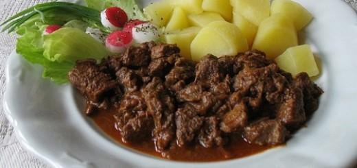 Gulasz wołowy z Węgier