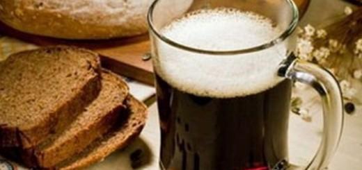 Kwas chlebowy razowy