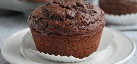 Muffinka z czekoladą