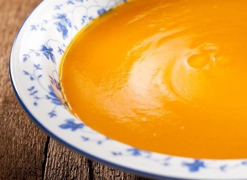 Zupa z dyni- Krem